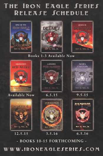 ALL Iron Eagle Books