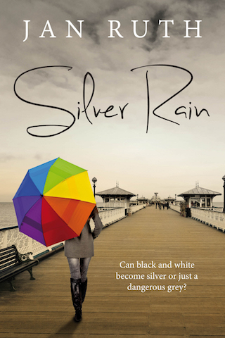 Silver Rain Cover LARGE EBOOK