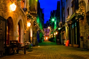 old Galway city street