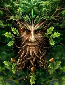 Green Man - photo found on Pinterest
