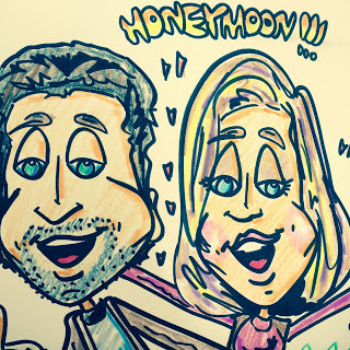 HoneymoonCaricature