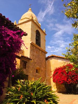 Mission in Carmel in California