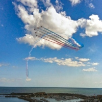 Hugh's Weekly Photo Challenge: Week 26 – Distance #Photography #RedArrows