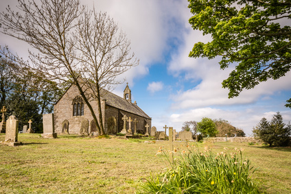 A delightful hilltop church in Northumberland believed to be the location where King Oswald raised a large wooden cross before the Battle of Heavenfield AD 635