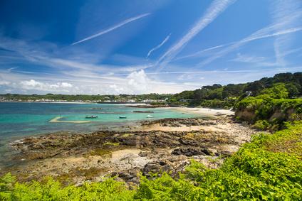 Rocquaine Bay, Guernsey,