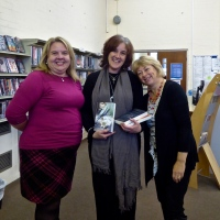Celtic Connections ~ Literary Event at #Conwy Library @JanRuthAuthor @GillyHamer #Books #wwwblogs