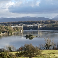 More #Menai Suspension Bridge & Strait #Photography