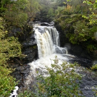 #WordlessWednesday ~ The Falls of Falloch #Scotland #Photography