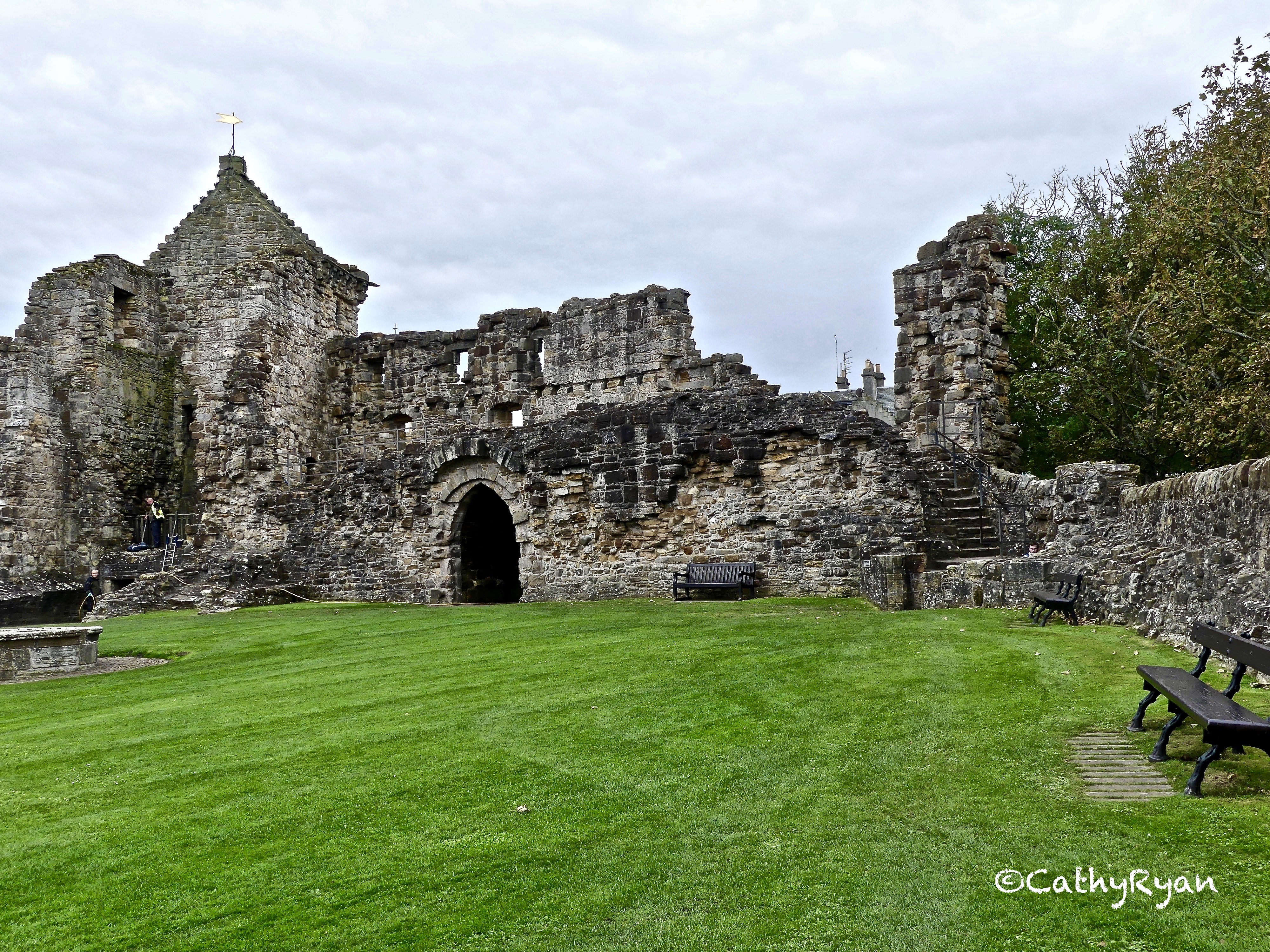 #WordlessWednesday ~ St Andrews' Castle & Some of the Displays #Photography