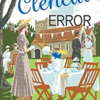 A Clerical Error (The Yellow Cottage Vintage Mysteries #3) by @newwrites 1930s #HistFic reviewed for #RBRT #FridayReads