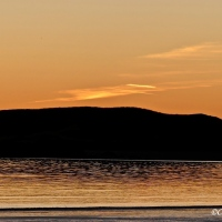 #SilentSunday ~ Sunset from Newborough Beach, Anglesey #Photography #SundayBlogShare