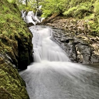 #WordlessWednesday ~ Swallow Falls #Snowdonia #Photography