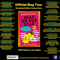 Blog Tour #Spotlight & #Extract ~ Dear Mr Pop Star by Derek and Dave Philpott #NewRelease @DerekPhilpott #Humour