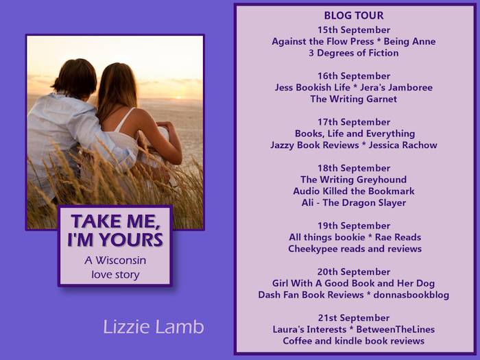 BookReview ~ Take Me, I'm Yours by Lizzie Lamb 'A Wisconsin