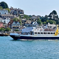 #WordlessWednesday ~ A Paddle Steamer Cruise on the River Dart #Photography