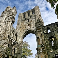 #WordlessWednesday ~ The Ruins of Kelso Abbey, founded in the 12th Century #Photography