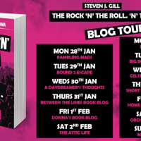 #GuestPost from Steven Gill ~The Rock 'N' Roll. 'N' That @fayerogersuk @authoright @HeresGilly #ROCKNROLLNTHAT