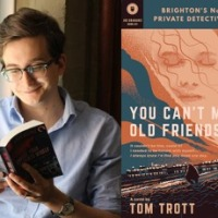 You Can't Make Old Friends (Brighton's No.1 Private Detective #1) by @tjtrott #BlogTour @rararesources #Crime in Brighton
