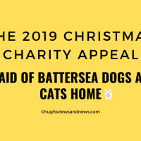 The 2019 Christmas Charity Appeal - Help Me Raise £250 For Battersea Dogs & Cats Home By Leaving Me Links To Your Blogs and Books
