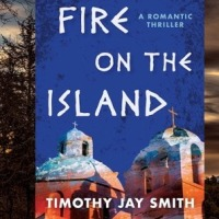 #Extract from Fire On The Island by @TimothyJaySmith #Romantic #Thriller set in Greece @linleewall