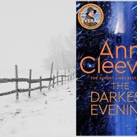 The Darkest Evening (Vera Stanhope #9) by @AnnCleeves #CrimeFiction set in Northumberland #FridayReads