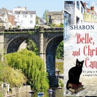 Belle, Book and Christmas Candle (The Witches of Castle Clair Book 1) by @Sharon_Booth1 #BookReview #FridayReads