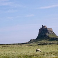 #SilentSunday ~ Lindisfarne Castle and Abbey Ruins #HolyIsland #Lindisfarne #Castle #Historic