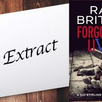 #Extract from Forgotten Lives: A DCI Stirling Investigation by Ray Britain #CrimeFiction #Thriller @ray_britain
