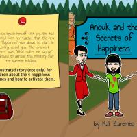 #SpotlightFeature ~ Anouk and the Secrets of Happiness by Kai Zaremba #Illustrated #KidLit