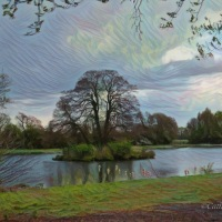 #SilentSunday ~ More Fun with #DigitalArt #Scenery