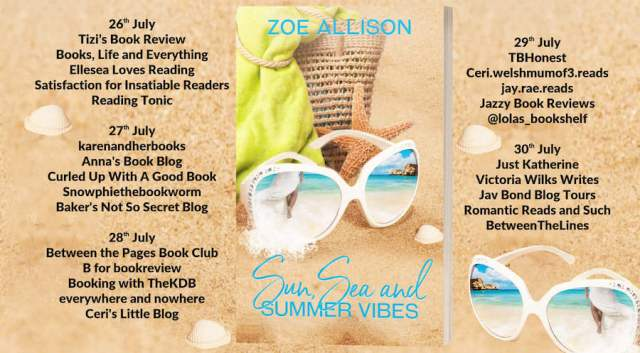 Sun Sea and Summer Vibes Full Tour Banner