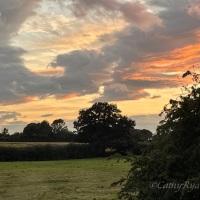 #SilentSunday ~ Sunset Skies #Nature #Photography